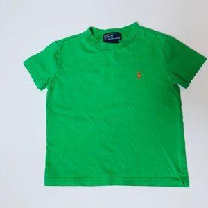 Polo Toddler Boys Green T-shirt